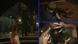 Resident Evil 2 Remake Mythbusters - How Does Mr X. Know Where You Are? & More Licker Myths