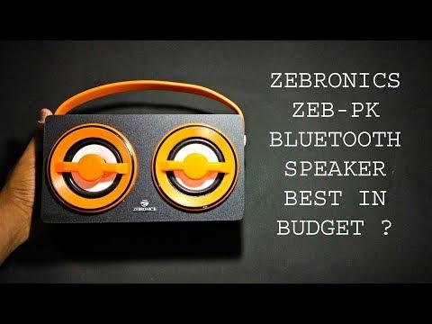 zebronics-zeb-pk-portable-bluetooth-speaker---full-review