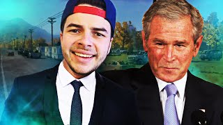 PLAYING GAMES W/ FORMER PRESIDENT BUSH (FUNNY MOMENTS)