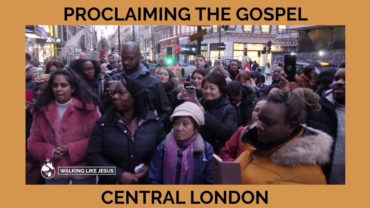 Preaching the Gospel on the Streets of London || Evangelist Daniel Chand