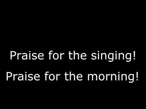 Morning has broken UU Hymn #38