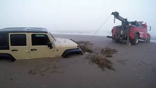 Jeep in surf part 2 updated