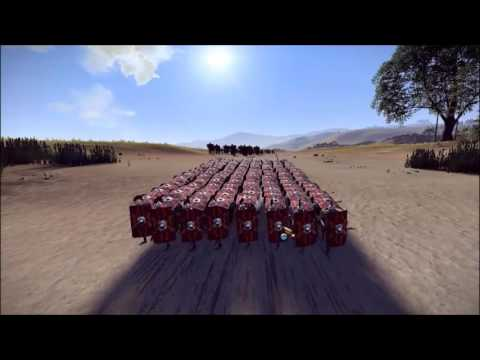 Roman Army vs 3600 Archers