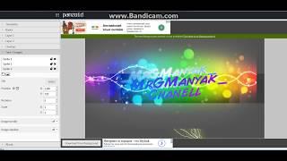 Как сделать обложку для YouTube Chanell | _MrGManyak_ Chanell