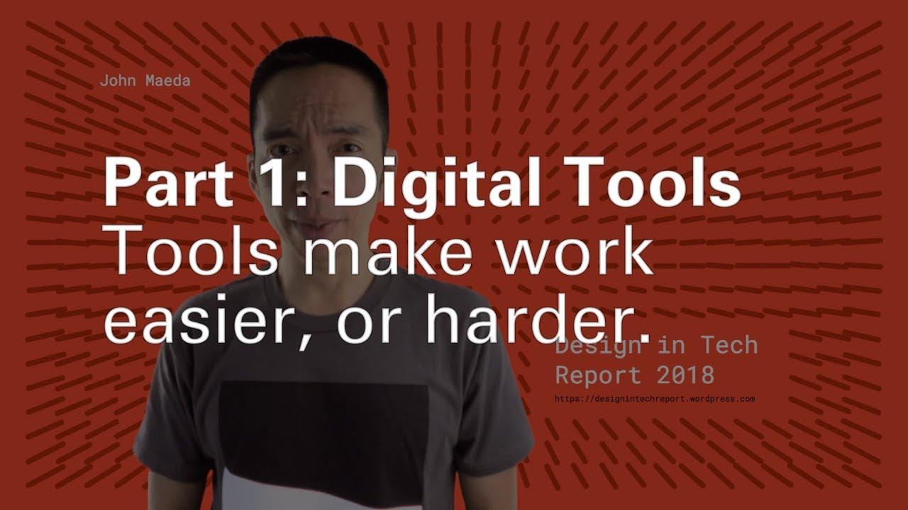 John Maeda | Vol. 1: 2018 #DesignInTech: Design Tools