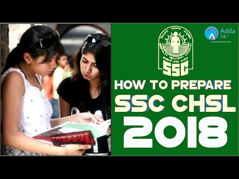 How To Prepare For SSC CHSL 2018 | Online Coaching For SSC CGL