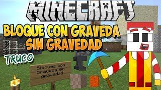 Minecraft Truco | Bloque Sin Gravedad - 3 Métodos Muy Bueno
