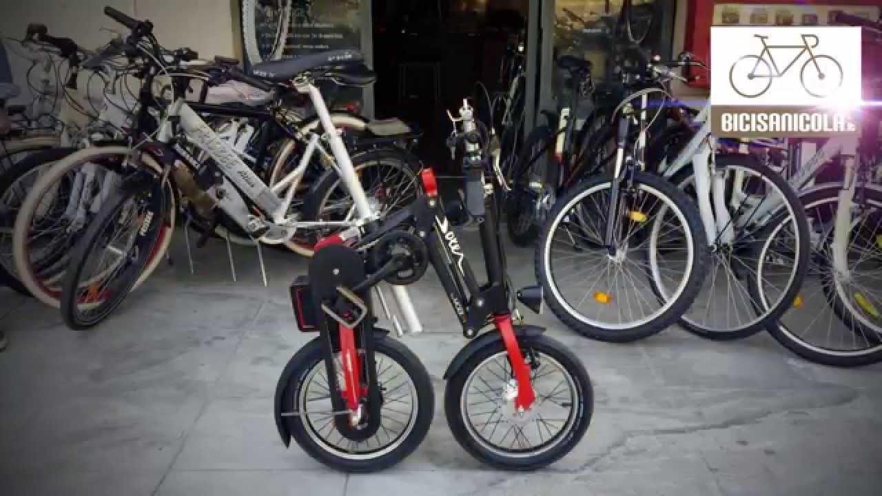 Bicicletta Pieghevole Mobiky Prezzo.Bici Sanicola Solex Youtube
