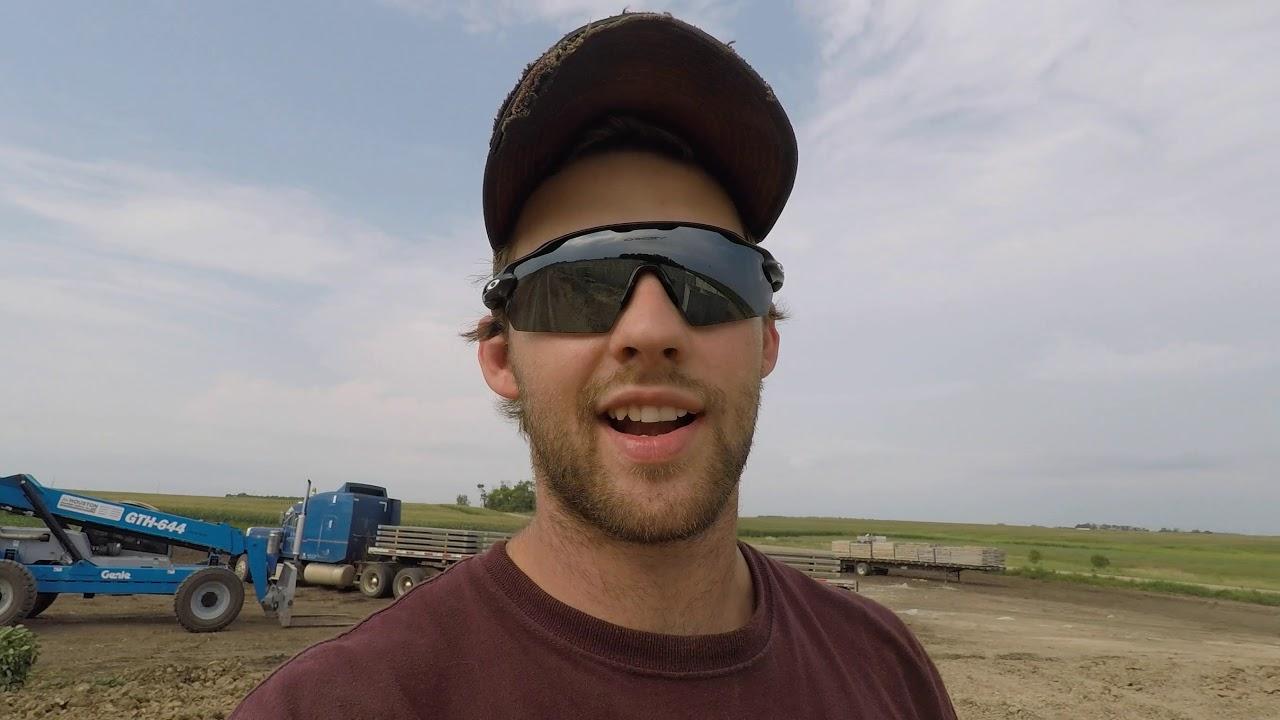 Trucking hog slats! - YouTube