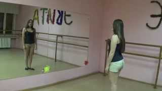 Урок танца живота тряска грудью