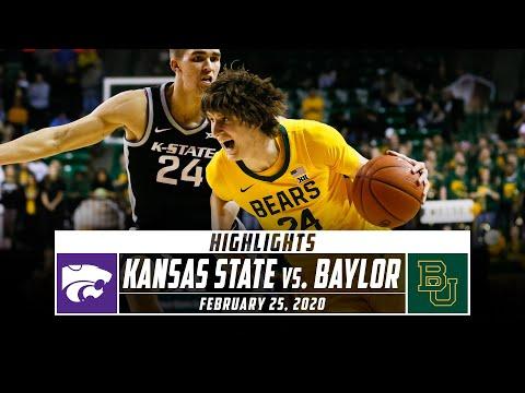 No. 2 Baylor Vs. Kansas State Basketball Highlights (2019-20) | Stadium