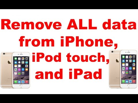 remove data from iphone remove all data from iphone 8 7 6s 6 ipod 7052