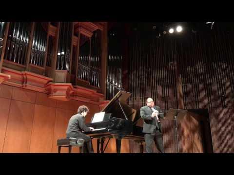 Michele Mangani, Sonata for clarinet and piano