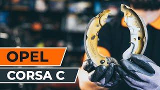 Comment remplacer des mâchoires de frein sur une OPEL CORSA C TUTORIEL | AUTODOC