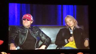 Michael Rooker and Pom Klementieff Panel | Wizard World Chicago 2018
