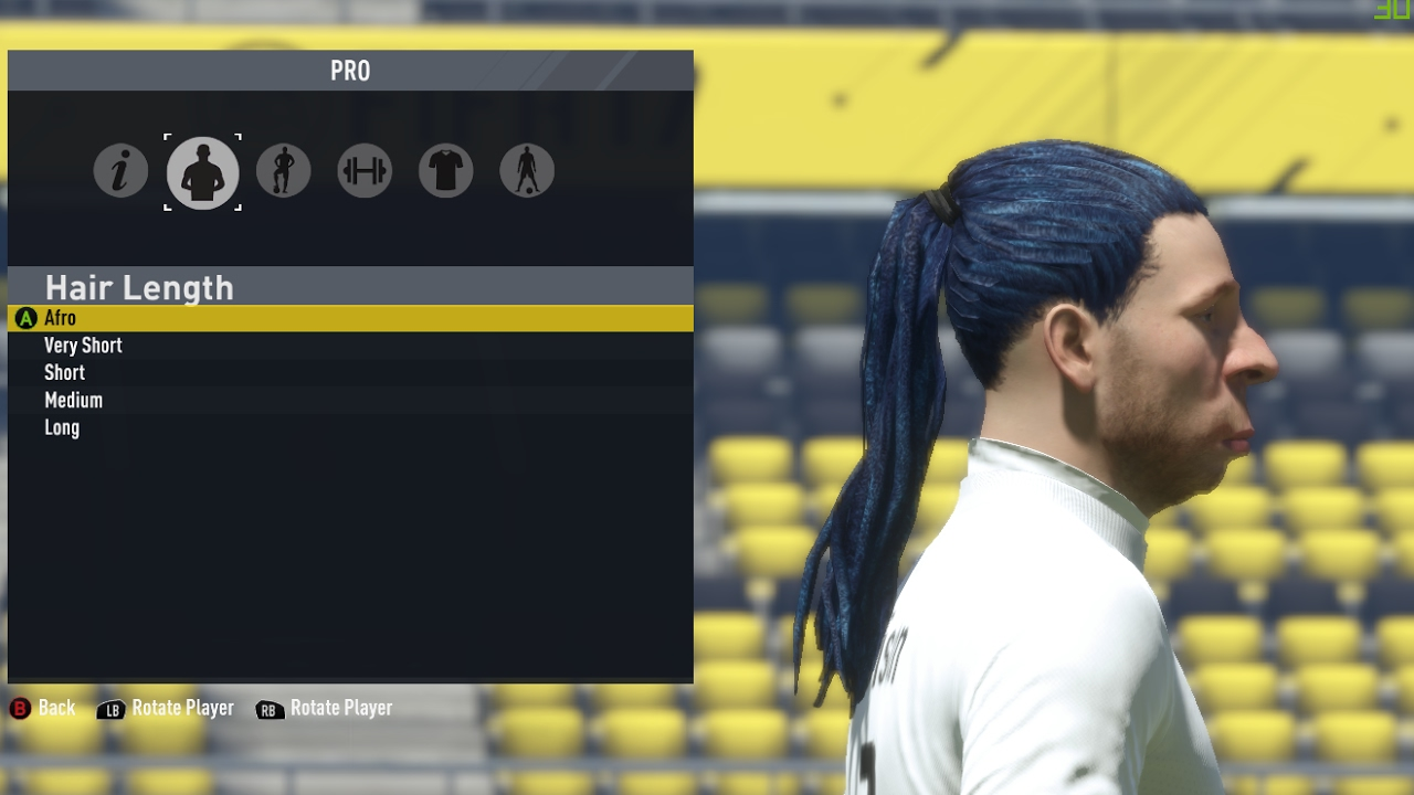 New Fifa 17 Pro Clubs Hairstyles