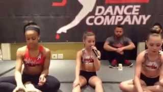 Mackenzie (from Dance Moms) singing The Cup Song