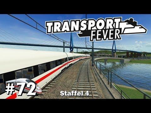 Transport Fever S4/#72: Weiterführung der ICE-Linie [Let's Play][Gameplay][German][Deutsch]