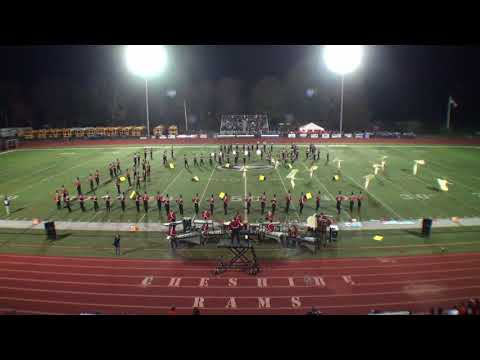 CHS Marching Ram Band at Music in Motion 2017, Cheshire, CT