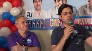 AJ Albuquerque, candidato a Deputado Federal (PP) , inauguração comitê central em Russas
