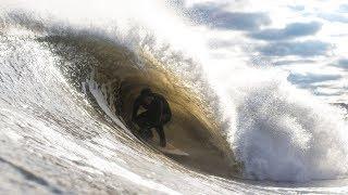 PERFECT SHORE BREAK WAVES With JAMIE OBRIEN BEN GRAVY