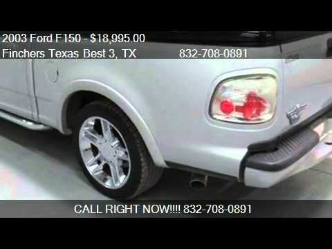 2003 Ford F150 Harley Davidson Truck For Sale In Houston Youtube