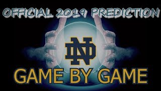 2019 NOTRE DAME FIGHTING IRISH SEASON PREDICTIONS AND PREVIEW