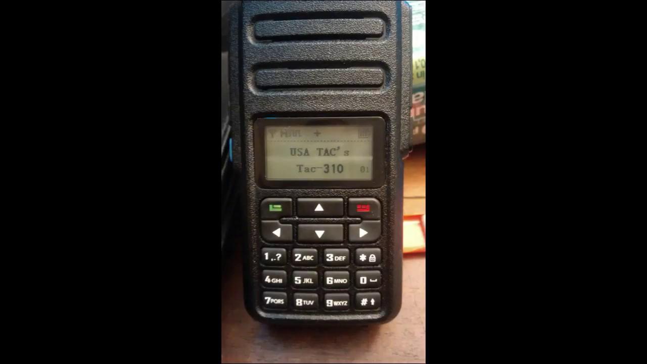 DMR Radio TAC-310 Twilight Zone