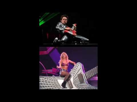 Muse & Britney Spears: Supermassive Toxic Hole Mash Up
