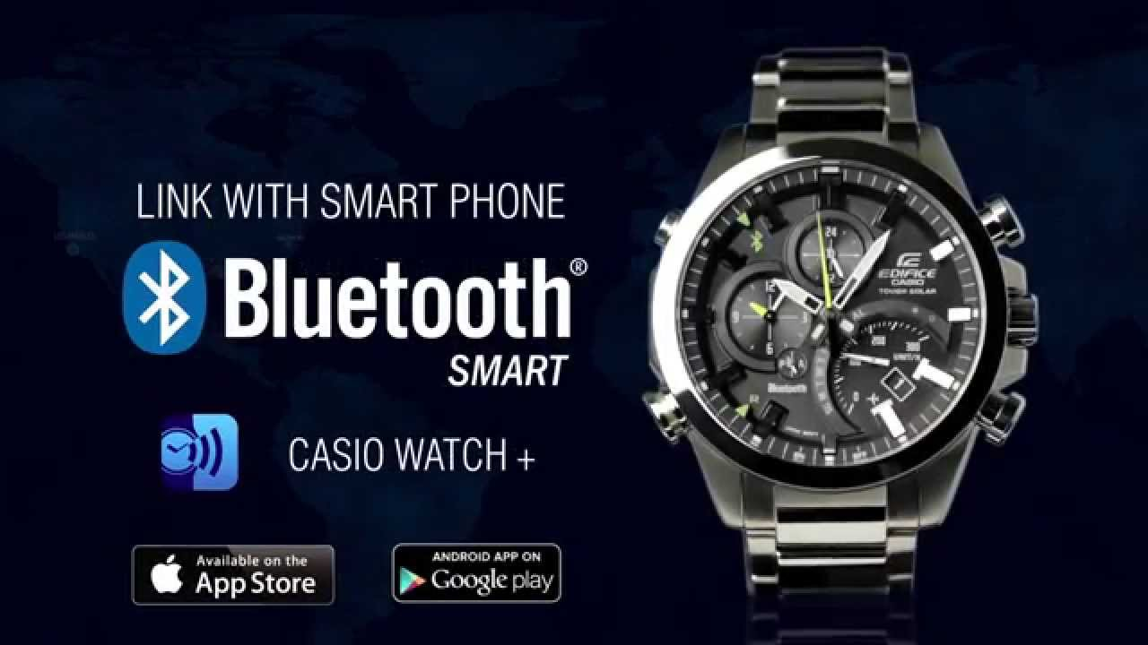 394de9687c41 Edifice EQB-500 Link with Smartphone Bluetooth Watch - YouTube