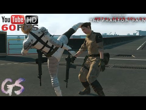 CQC Demonstration by The Boss MOD I Metal Gear Solid V: The Phantom Pain