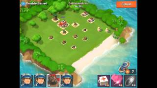 Boom Beach Level Guide - Double Barrel