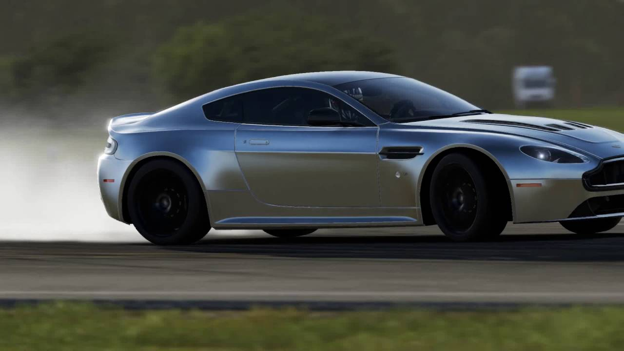 forza 6 apex dx12 aston martin vantage v12 s top gear test track replay youtube. Black Bedroom Furniture Sets. Home Design Ideas