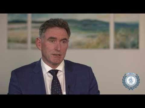 Ross McEwan, Sir Geoffrey Peren Medal recipient 2017 | Massey University