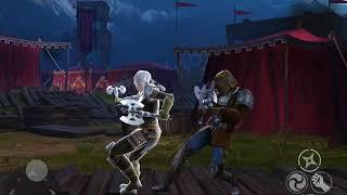 Shadow fight 3 challenge-no helmet fight WJane vs KB ROLLA