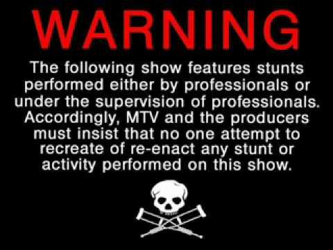 Image result for jackass warning