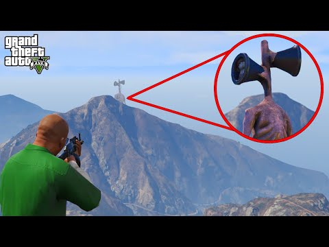 I Found Siren Head on GTA 5 Ep.5 (Grand Theft Auto V)