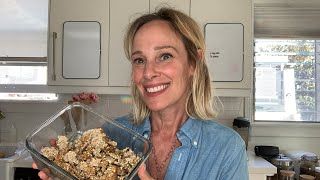 raw oat cookie granola w almond pulp and sprouted buckwheat ?