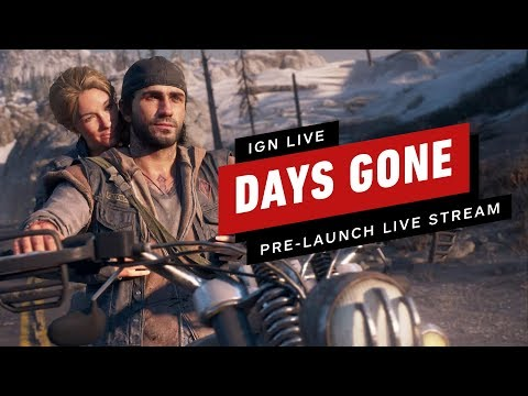 Tage vor dem Start Live-Stream - IGN Live + video