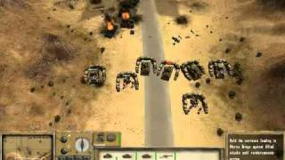 Desert Rats vs Afrika Korps GamePlay