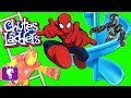 Black Panther Toys Play Chutes and Ladders Game by HobbyKidsTV