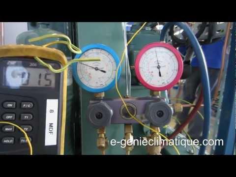 Froid19-Montage 1-Relever des valeurs de surchauffe et de sous refroidissement sur le circuit frigo