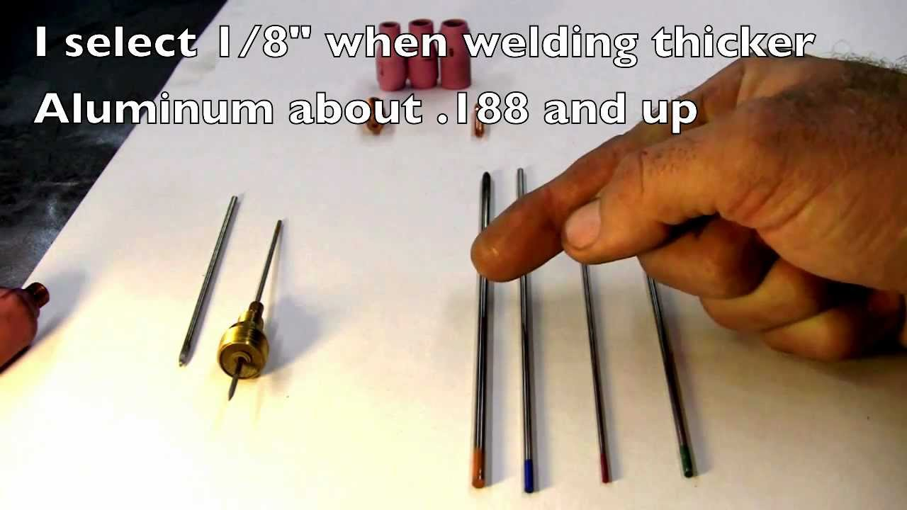 Tig welding 101 tungsten collet and tig cup selection for tig welding 101 tungsten collet and tig cup selection for aluminum welders tungstens and cups youtube nvjuhfo Gallery