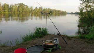 Фидерная рыбалка на Десне в маю