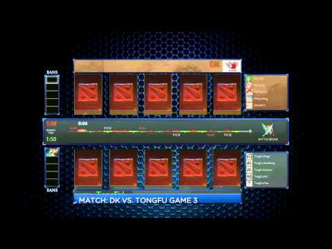 LIVE Alienware Cup - Orange Vs IG @ 1800 SGT (GMT+8) [THEN] Tongfu Vs DK @ 2100 SGT (GMT+8) With LD