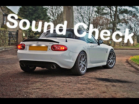 nc miata mx5 exhaust sound clip youtube. Black Bedroom Furniture Sets. Home Design Ideas