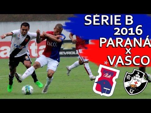 Paraná Clube 0 x 1 Vasco - Brasileirão Série B 2016 (22/10/2016)
