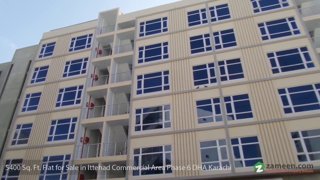 5 400 Sq Ft Apartment For In Ittehad Commercial Area Phase 6 Dha Karachi