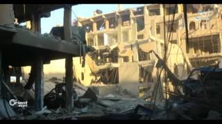 غارات للتحالف الدولي على الميادين بدير الزور..تضيق على
