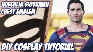 Hoechlin Superman Chest Emblem Cosplay Tutorial - From CW